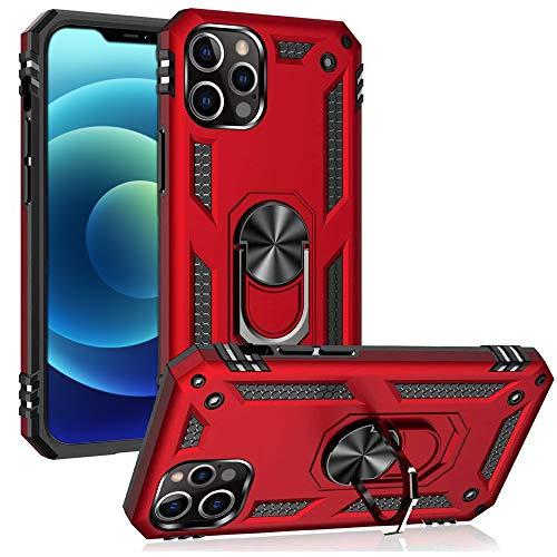 Toppix - Funda para iPhone 12 / iPhone 12 Pro (6,1 pulgadas), silicona TPU, color negro