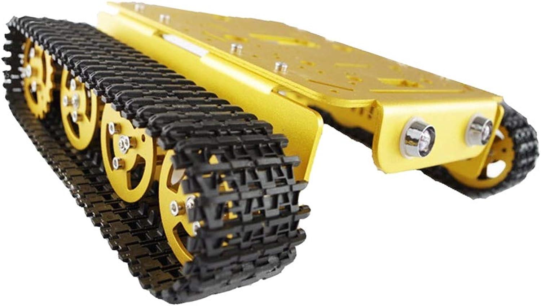 bienvenido a comprar H H H HILABEE T200 Metal Inteligente Tanque Robot Chasis con Orugas  suministro de productos de calidad