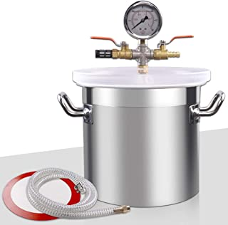 Best resin degassing vacuum chamber Reviews