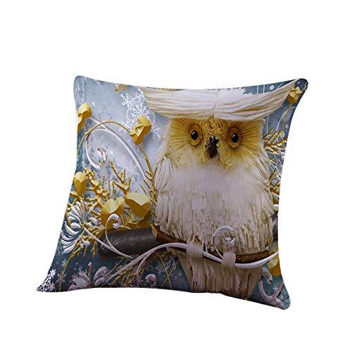 LOKODO Decorative Throw Pillow Case Halloween Pillow Cover Pumpkin Ghosts Cushion Cover Home Decor