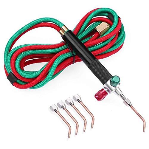 Heizung Fackel Mini Gas Little Torch Schweißen Löten Kit Sauerstoff-Acetylen-Gun for Metall-Edelstahl-Schweißen Löten Tool Kit Qualitäts-Beruf