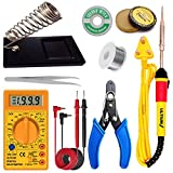 ULTIUM 25W Soldering Iron   Beginners Soldering Kit   Soldering Iron Kit Set with Digital Multimeter...