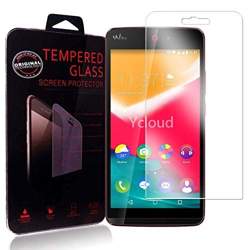 Ycloud Panzerglas Folie Schutzfolie Bildschirmschutzfolie für Wiko Rainbow Jam 3G / 4G screen protector mit Festigkeitgrad 9H, 0,26mm Ultra-Dünn, Abger&ete Kanten