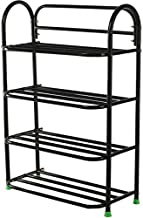 Patelraj Metal Shoe Rack 4 Tiers