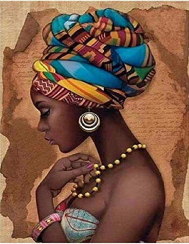 Bebeehome Erwachsene Puzzle Holz 1000 Stück Nahaufnahme Afrikanerin Schön Verpackt Ist EIN Gutes Geschenk Für Freunde