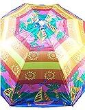 Sol Summer Shade Beach Umbrellas (Shiny Sailing Day)