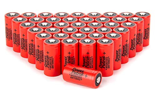 Interstate Batteries CR123A Lithium Batteries - 3V 1.55AH Lithium 40 Pack (PHO0018)