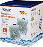Aqueon QuietFlow Filter Cartridge, Large, 12 Pack