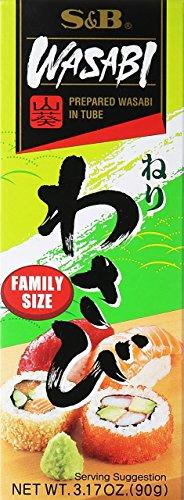 SampB Prepared Wasabi in Tube Family Size 317 oz 90 g