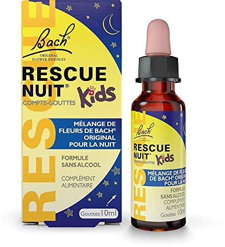 RESCUE NUIT Kids Compte-gouttes 10 ml, participe à des nuits sereines