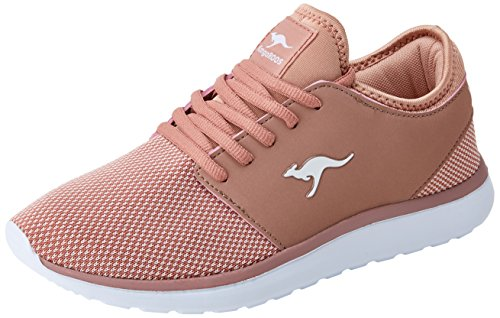 KangaROOS Damen Sumpy Sneaker, Rot (Rose), 40 EU