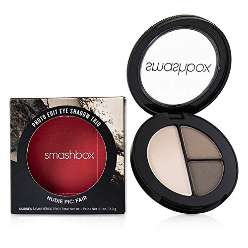 Smashbox Photo Edit Augen Ultra-Tragbare Lidschatten Trio - Nudie Pic:Fair- 0.11oz/3.2g