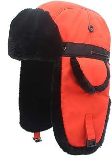 Yezijin Children Kids Winter Warm Stretchy Soft Hat Thick Warm Hat for 2-8 Years Old