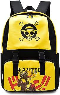 حقيبة ظهر مدرسية لوفي من قطعة واحدة حقيبة ظهر للكمبيوتر المحمول