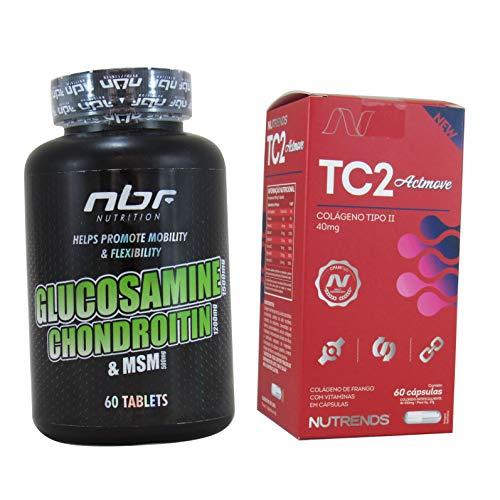 Glucosamina Condroitina Colágeno Tipo2 Importado Articulação Kit