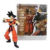 Figura De Anime Dragon Ball Z Youngster Goku Figurines Black Hair Sun Goku PVC Figuras De Acción DBZ...