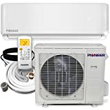 Pioneer Air Conditioner WYS030G-17 Wall Mount Ductless Inverter+ Mini Split Heat Pump, 30000 BTU-208/230 V