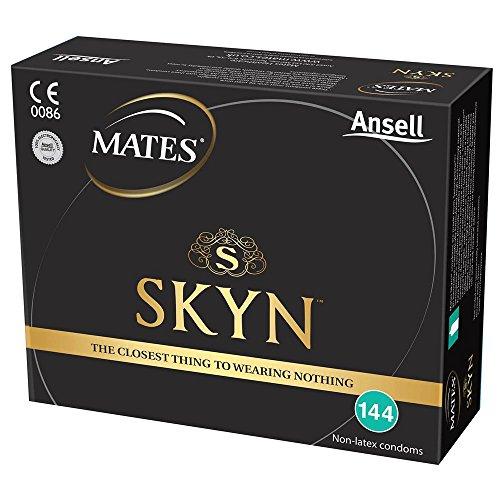 Mates Skyn Condones originales sin látex- Pack de 144