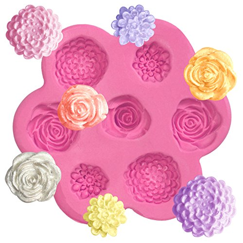 Mini Flowers Silicone Mold for Crafts
