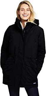 lands end womens wool parka