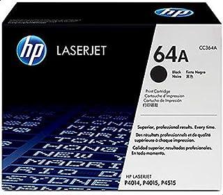 HP 64A Black Original LaserJet Toner Cartridge (CC364A)