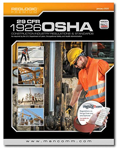 Compare Textbook Prices for Mancomm 29 CFR Part 1926 OSHA Construction Standards & Regulations, January 2020  ISBN 9781599594453 by Mancomm