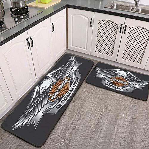 Tappeto da bagno per Harley Davidson con cuscino carino