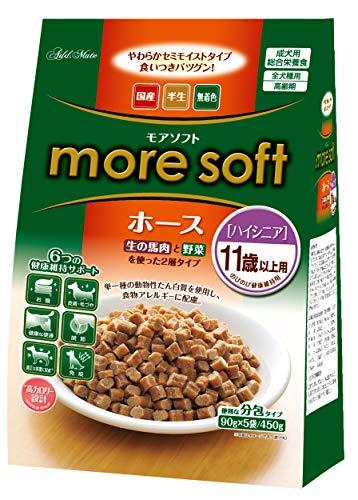 Petio more soft Dog Food Hose, High Senior, 15.9 oz (450 g)