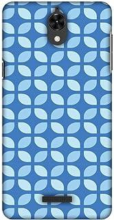 AMZER Slim Handcrafted Designer Printed Hard Shell Case for Coolpad Mega 2.5D - Geometric Flowers 3