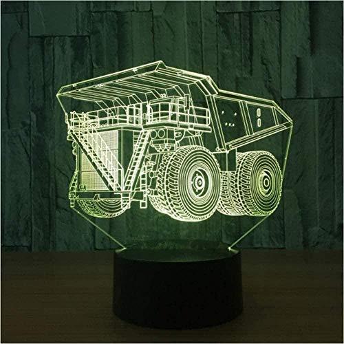 3D bebé durmiendo 16 colores USB luces de noche LED coche forma lámpara de mesa luz decoración del hogar