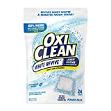 Product Image of the OxiClean White Revive Laundry Whitener + Stain Remover Power Paks, 24 Count