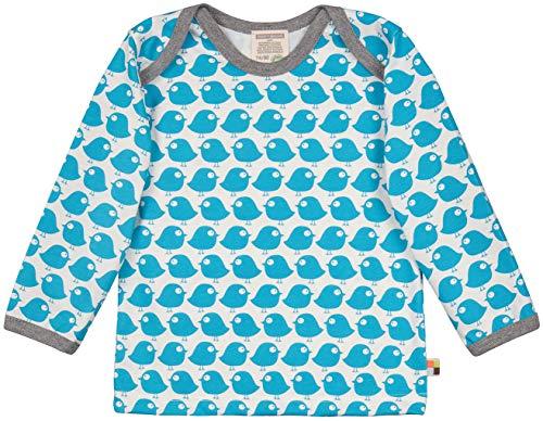 loud + proud Baby-Unisex Langarm aus Bio Baumwolle, GOTS Zertifiziert T-Shirt, Blau (Petrol Pe), (Herstellergröße: 98/104)