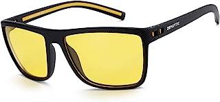 عینک آفتابی Polarized ZENOTTIC برای مردان عینک آفتابی مربع سبک TR90 Frame UV400