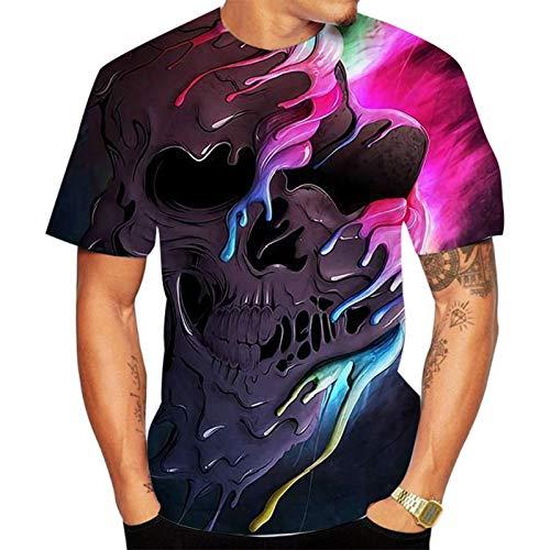 SSBZYES Camiseta para Hombre Camiseta De Verano De Manga Corta para Hombre Camiseta De Cuello Redondo con Estampado De Moda para Hombre Camiseta Grande para Hombre Camiseta De Moda para Pareja
