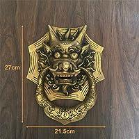 ゲートノッカー アンティーク大きなゲートノッカードアノッカー真鍮ドア用ゲイツ氏とドアビルダーズハードウェア ガーデンシェッドに適しています (色 : B, Size : AS PICTURE)