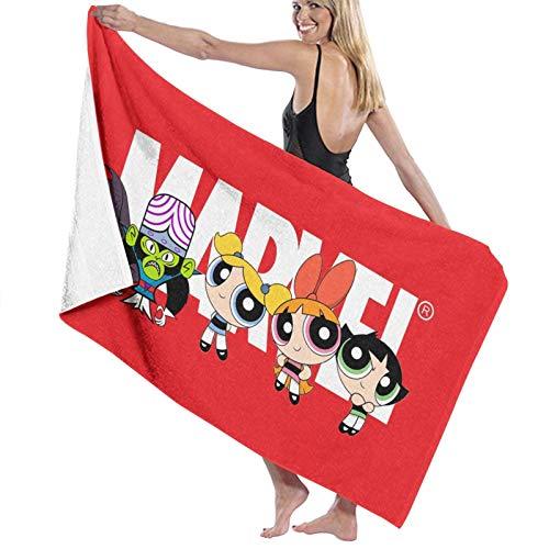 The Pow-erpu-ff - Toalla de baño de secado rápido, unisex, para ducha, yoga, piscina, gimnasio, pícnic
