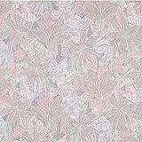 Fabulous Fabrics Jacquard rosé, Pflanze, 138cm breit –