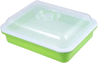 Yarnow Seed Sprouter Tray with Lid Bean Sprout Grower for Gardening Seed Starting Growing
