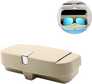 para VW para BMW para Toyota FANGPAN Soporte para Gafas Funda para Gafas universales Soporte para Gafas Clip de Visera para Sol Gafas de Sol Soporte Accesorios para Coche