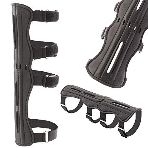 eltoro tipo de protección brazo Long, negro