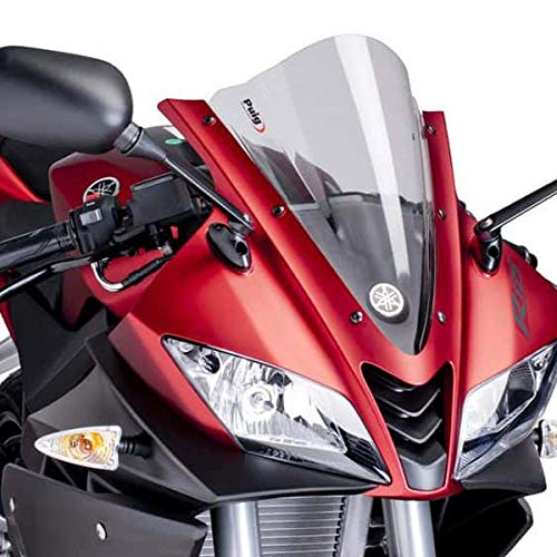 Puig 4637W RACING-SCREEN 【CLEAR】 YAMAHA YZF-R125(08-15) プーチ スクリーン カウル オートバイ バイク パーツ