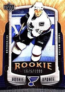 (CI) Tomas Mojzis Hockey Card 2005-06 Upper Deck Rookie Update 190 Tomas Mojzis