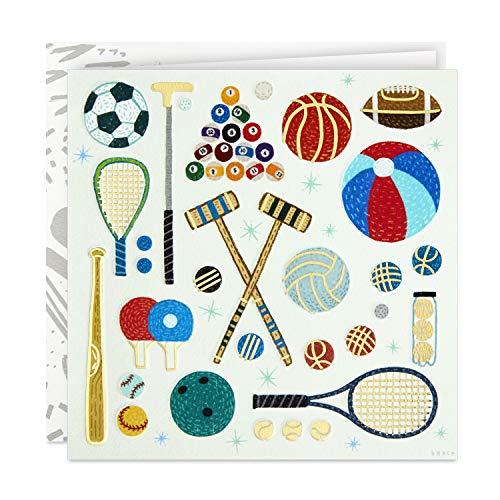 Hallmark Good Mail lustige Geburtstagskarte für ihn (Sports und Spiele) (499RZR1049)