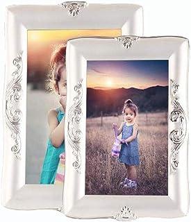 Amazon.es: marcos de fotos de plata: Bebé