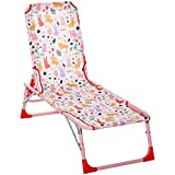 Best Beach Chairs For Kids - Outsunny Lightweight Chaise Lounge Chair for Kids Review