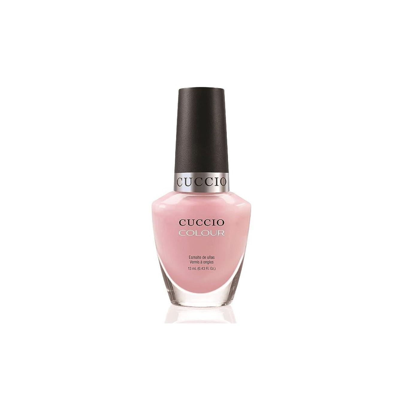 爆発廃棄毒性Cuccio Colour Gloss Lacquer - Pink Lady - 0.43oz / 13ml