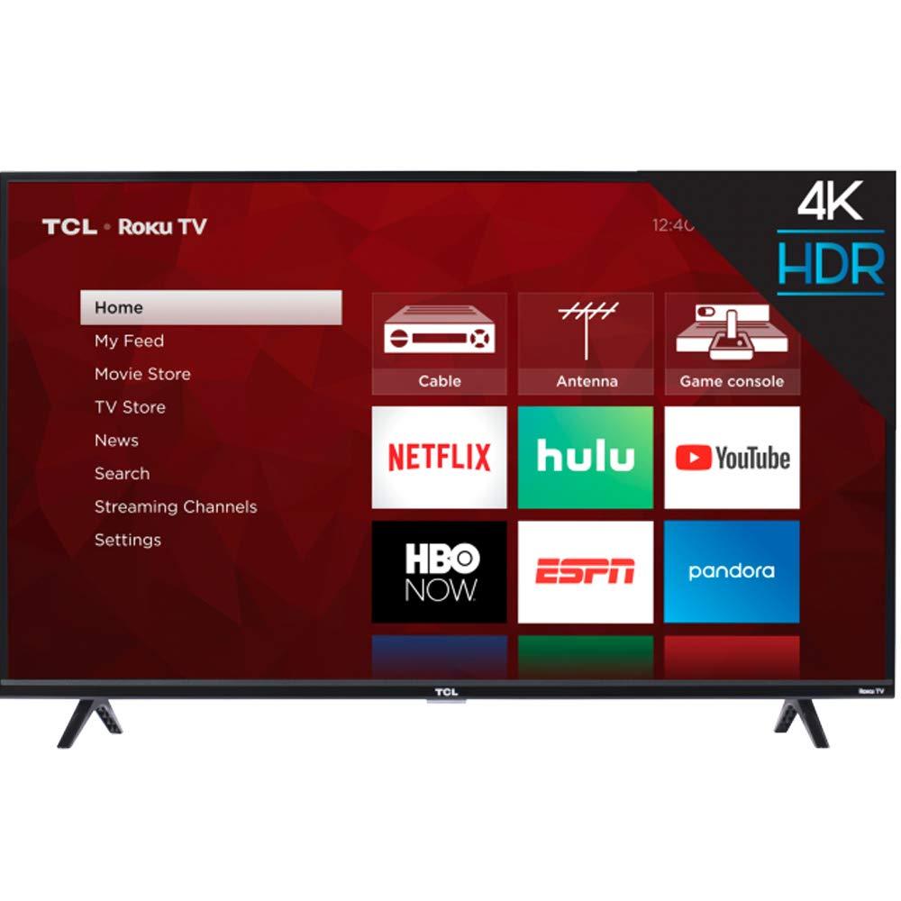 TCL pulgadas 4-Series 4K Roku Smart UHD TV (55 pulgadas): Amazon.es: Electrónica