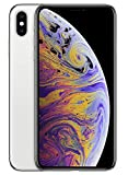 Apple iPhone XS Max, 64GB, Silver - For Cricket Wireless (Renewed)
