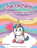 Libro de actividades de unicornios: para niños de 4 a 8 años - Volumen 4