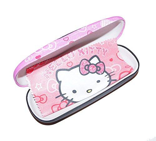 süßes Brillenetui für Kinder | Hello Kitty inkl Microfasertuch